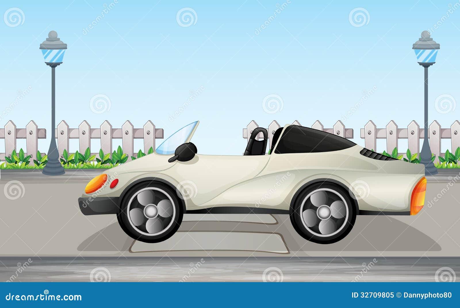 Een mooie sportwagen