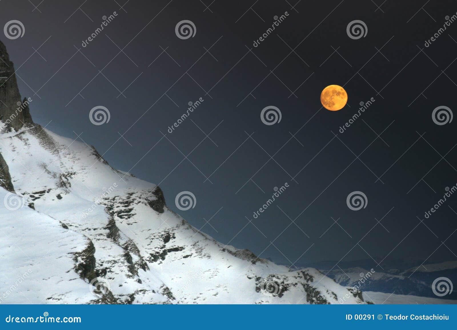 Een nacht in de bergen
