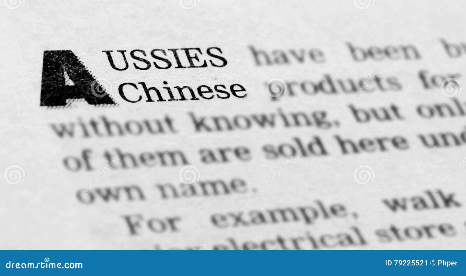 Een nieuwsartikel over Australische en Chinese economie
