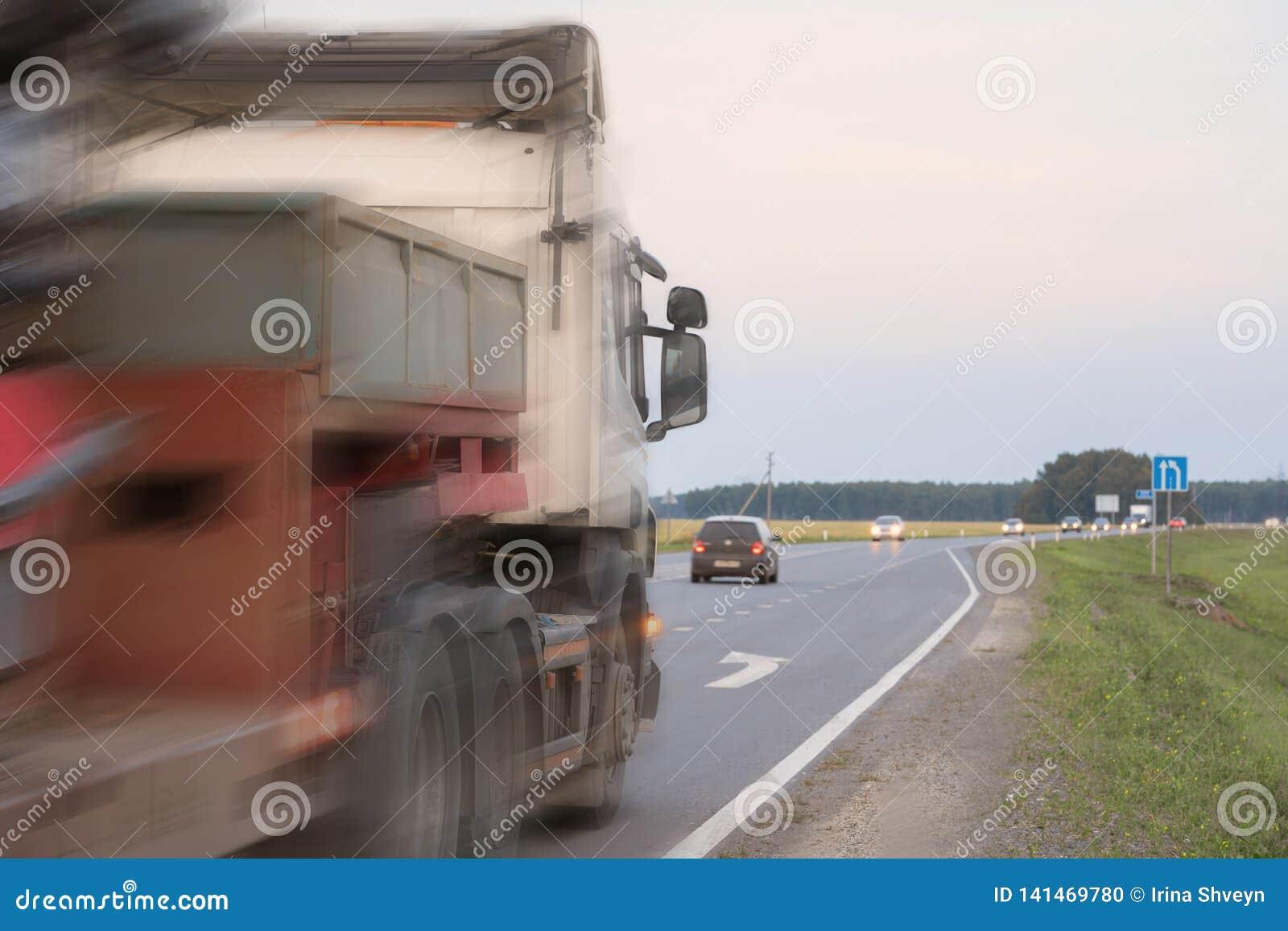 Een ongeval op de weg
