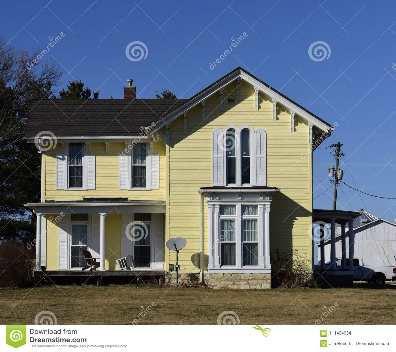 Een Oud Geel Huis