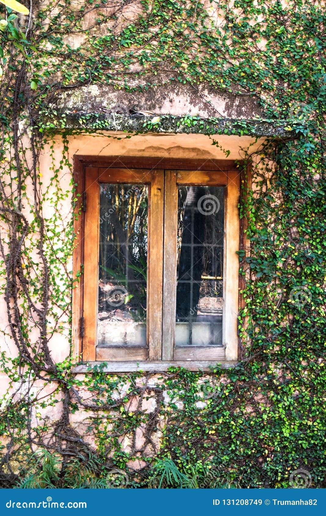 Een oud venster