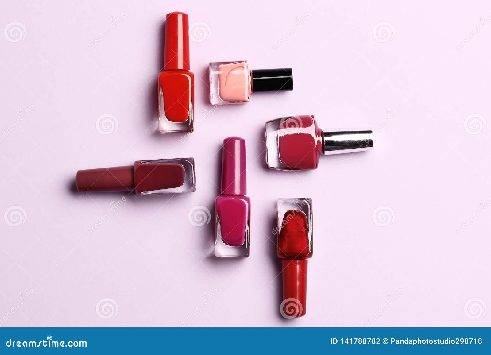 Een reeks nagellakken