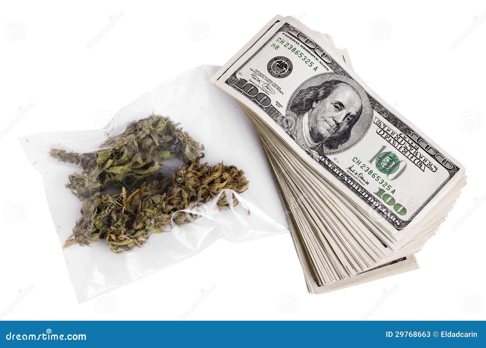 Marihuana & Contant geld