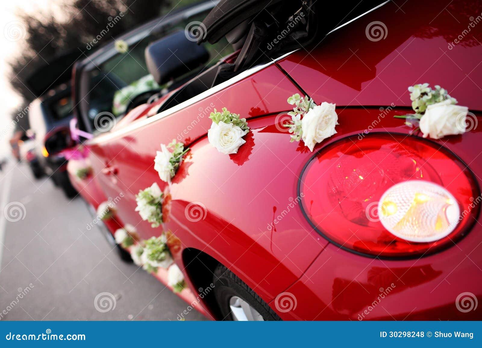 De auto van het huwelijk