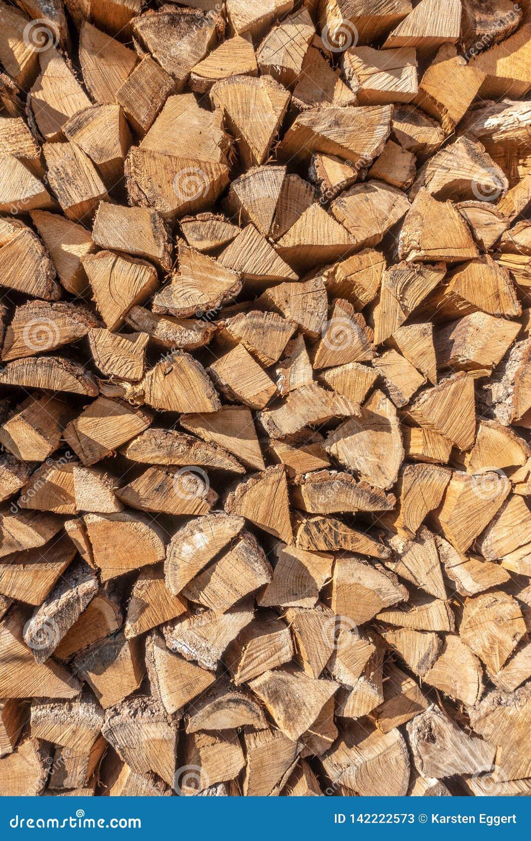 Een stapel van hout