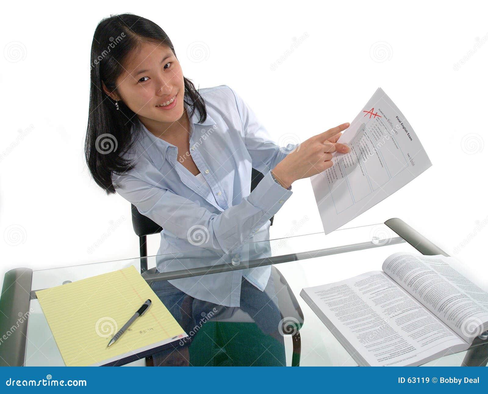 Een student