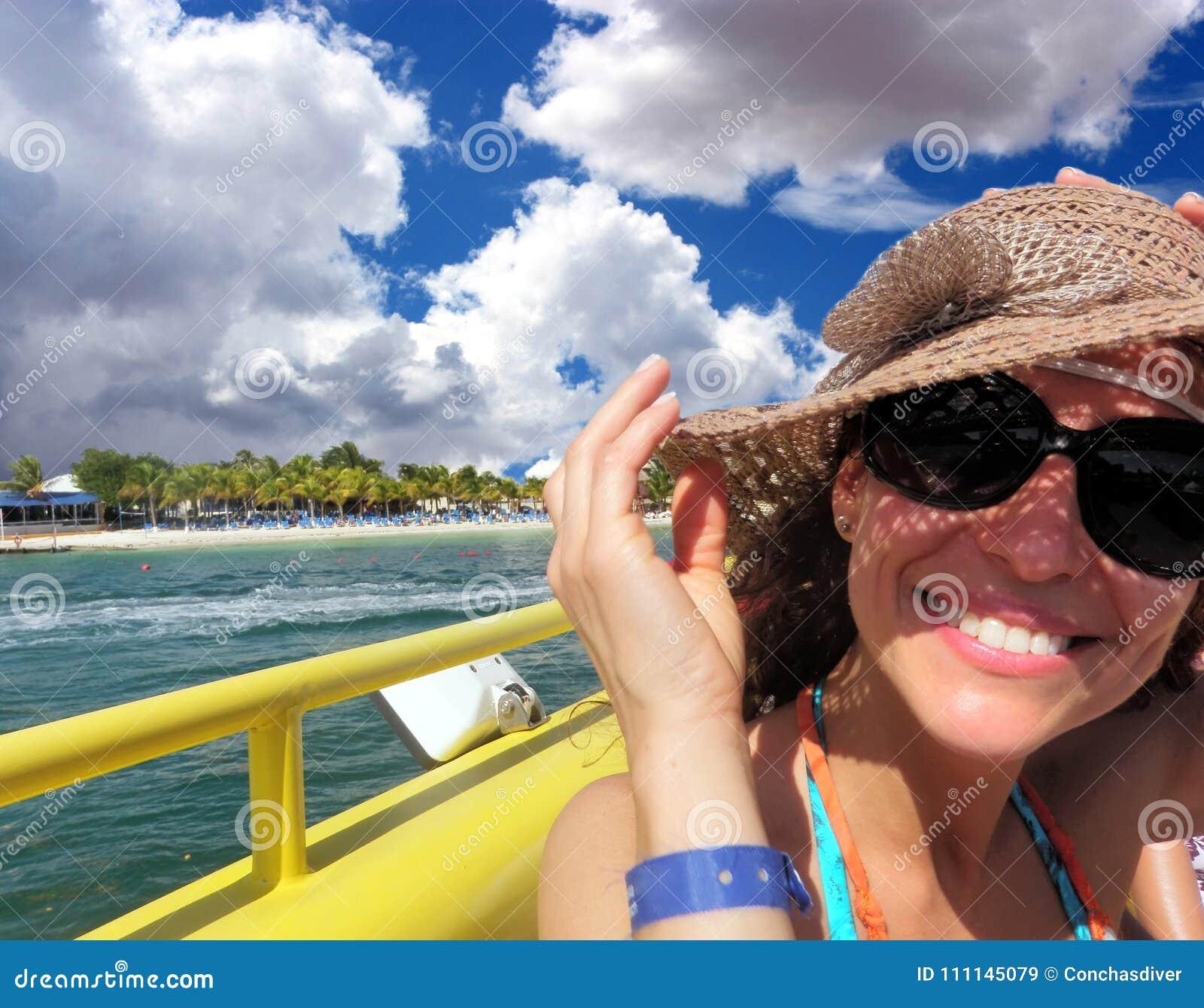 Een Toerist in Mexicaans Yucatan