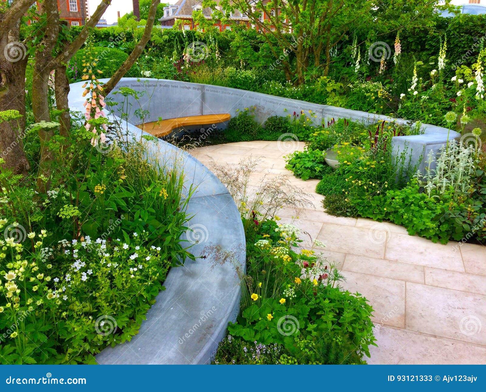 Een tuinontwerp