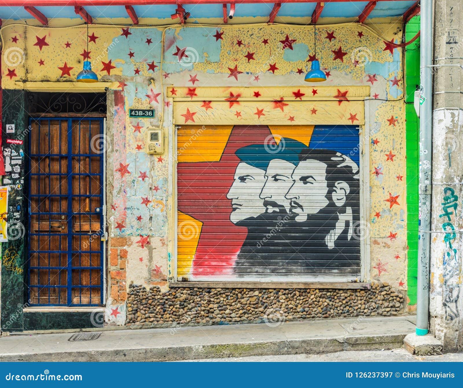 Een typische mening in Medellin in Colombia