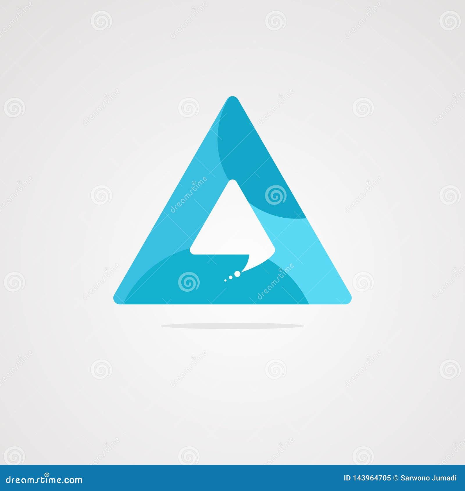 Een een een een vector, pictogram, element, en malplaatje van het praatjeembleem