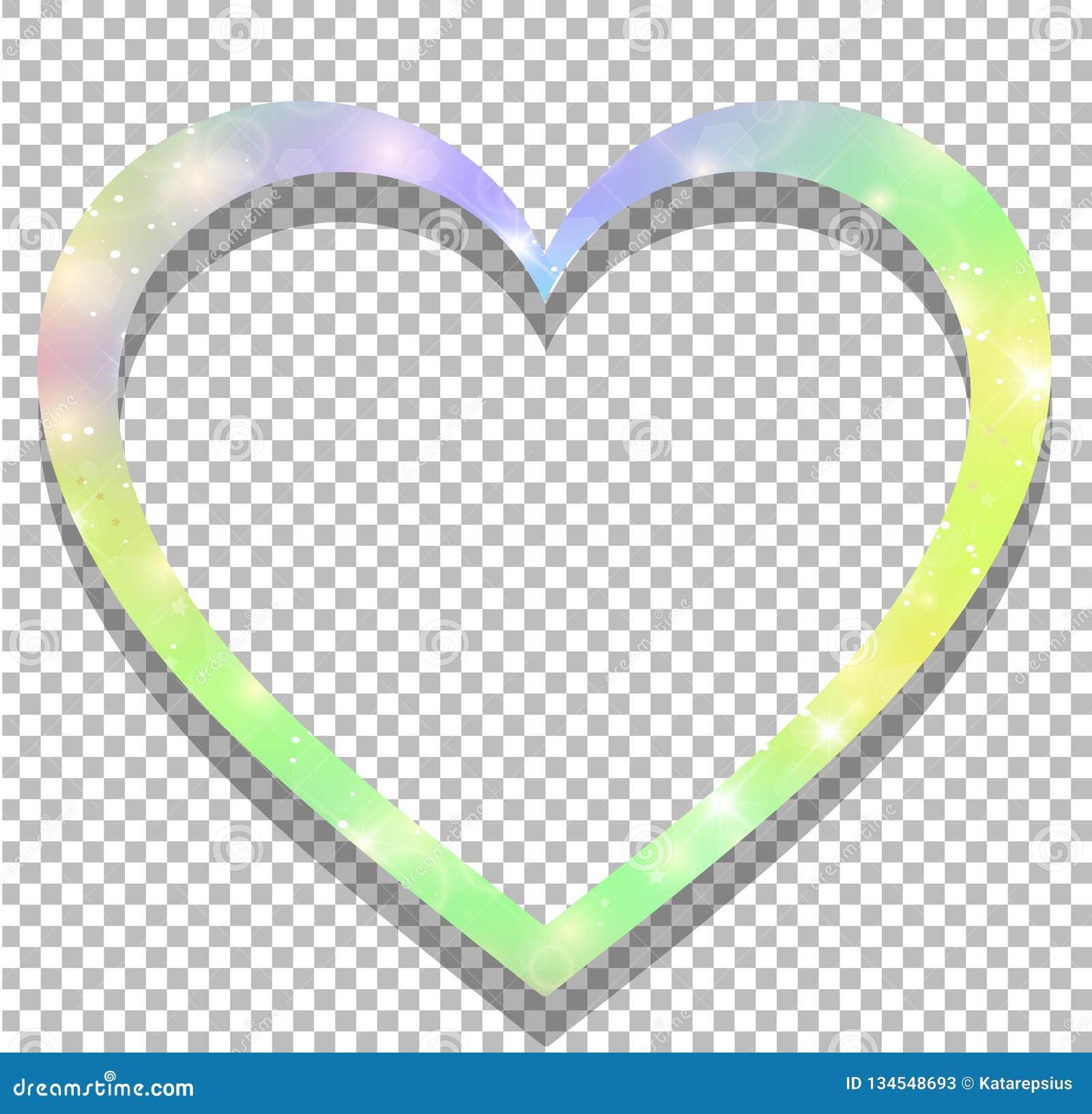 Eenhoorn met het gestalte gegeven kader van het regenboognetwerk hart op transparante achtergrond