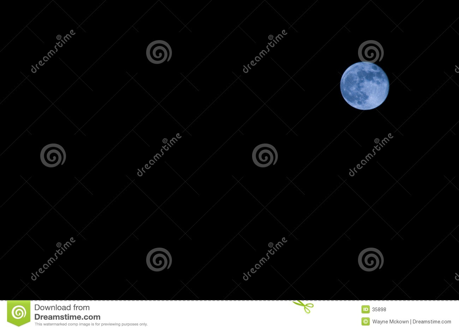 Eens in een blauwe maan