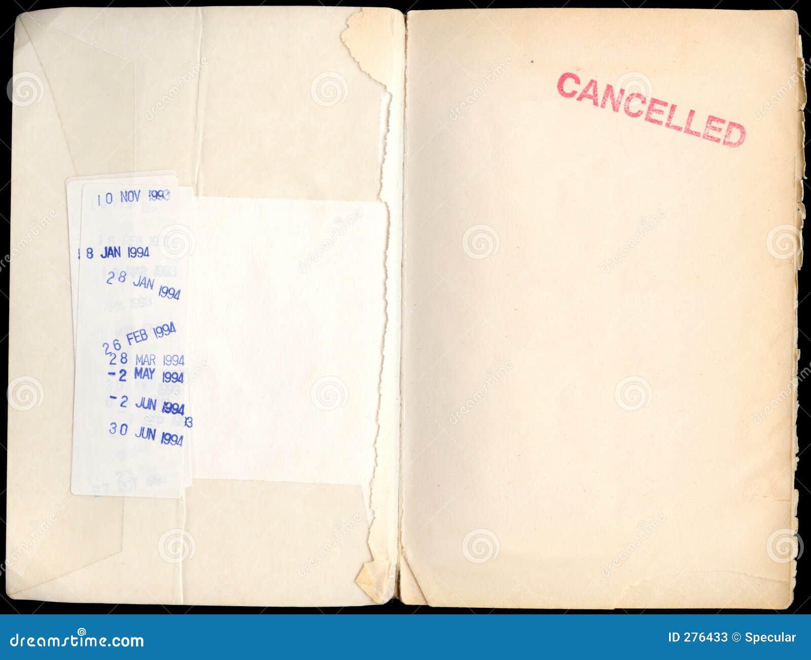 Eens was een bibliotheekboek