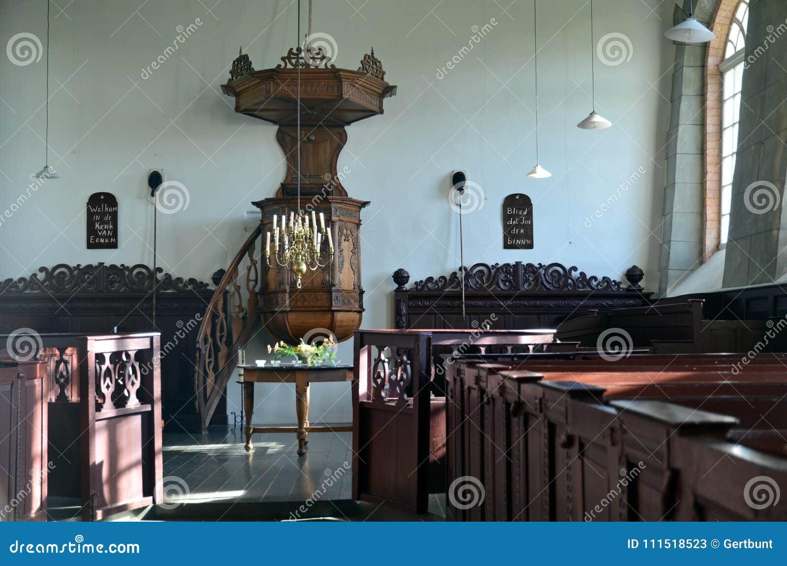 Eenum,格罗宁根教会的内部
