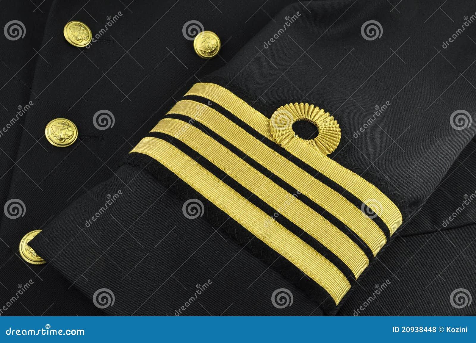 Eenvormige marine, kapitein