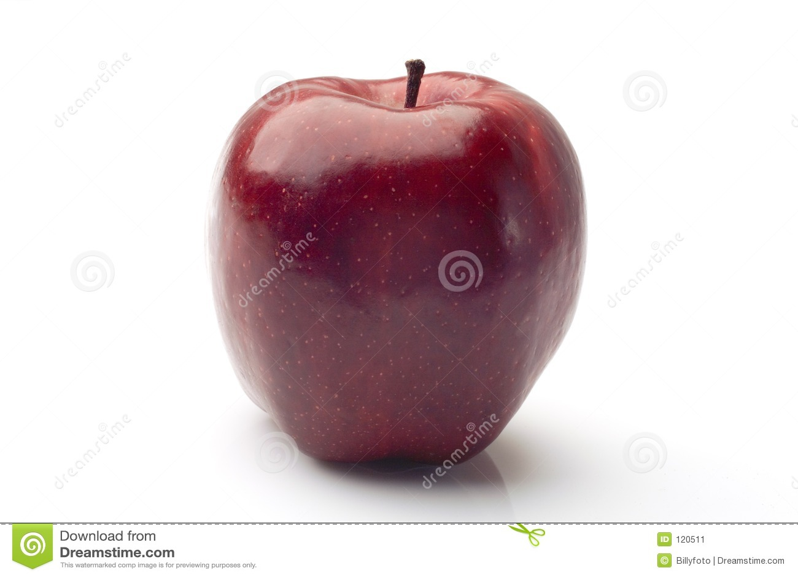Eenvoudig, een rode appel