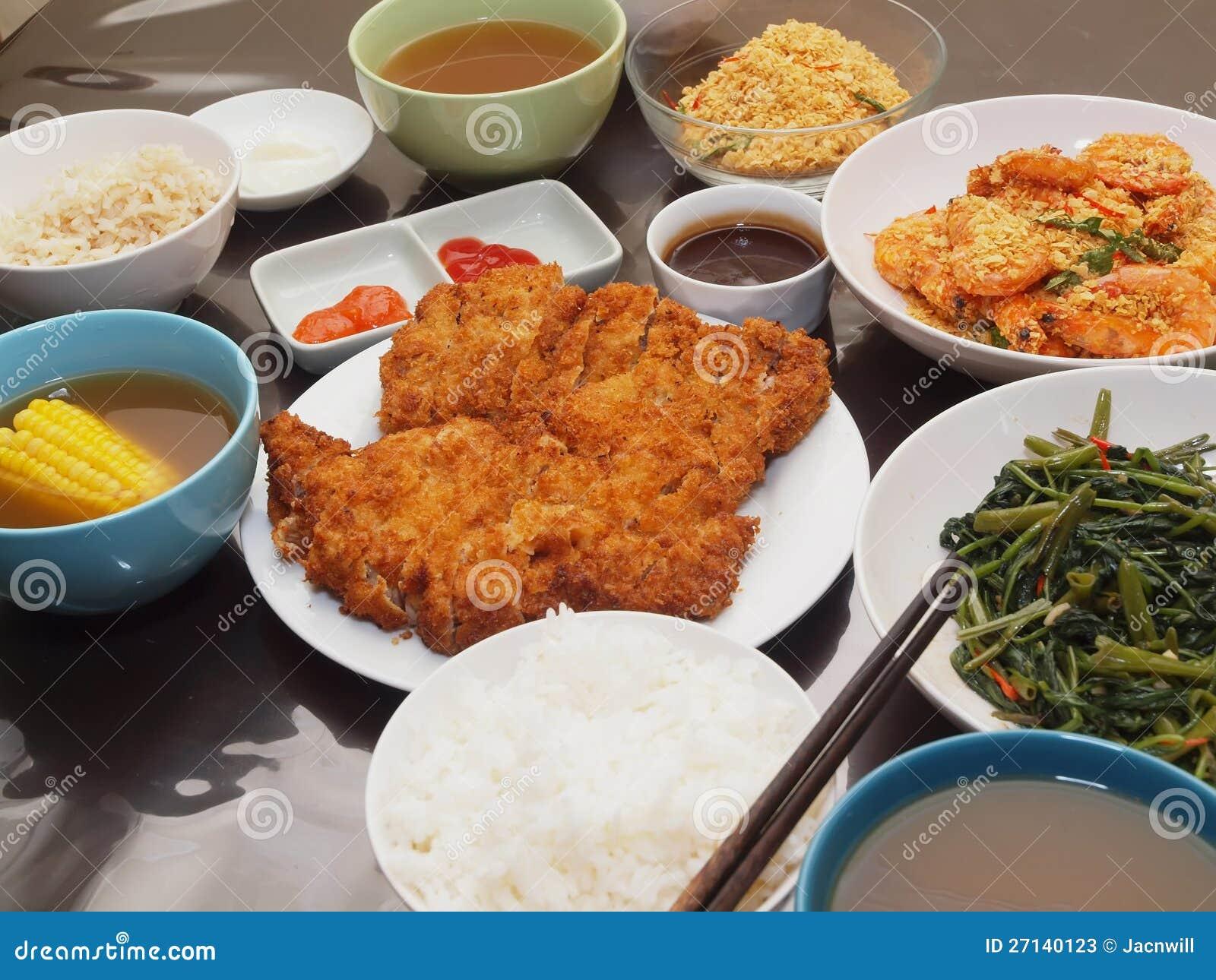 eenvoudige maaltijd