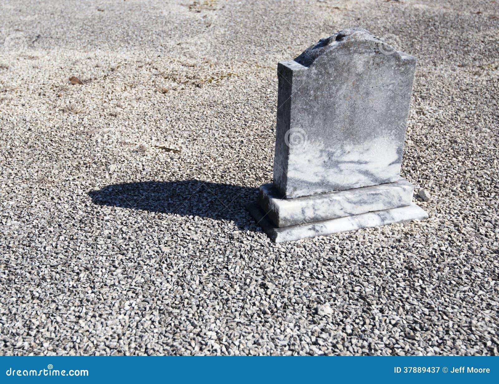 Eenzaam Weinig Grafsteen