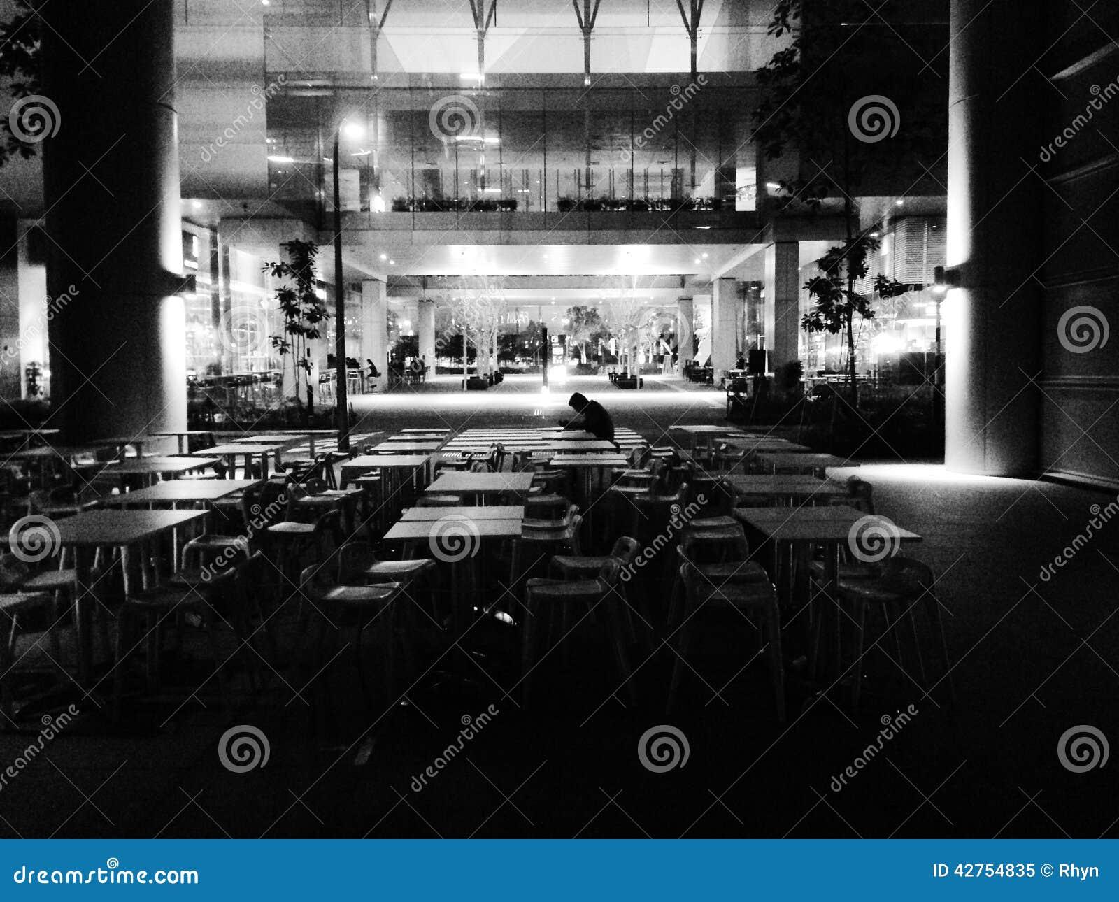 Eenzame Diner
