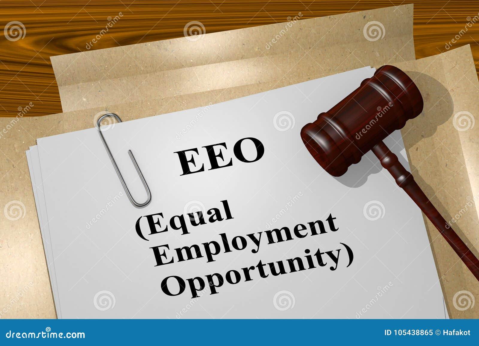 EEO -相等的工作机会概念