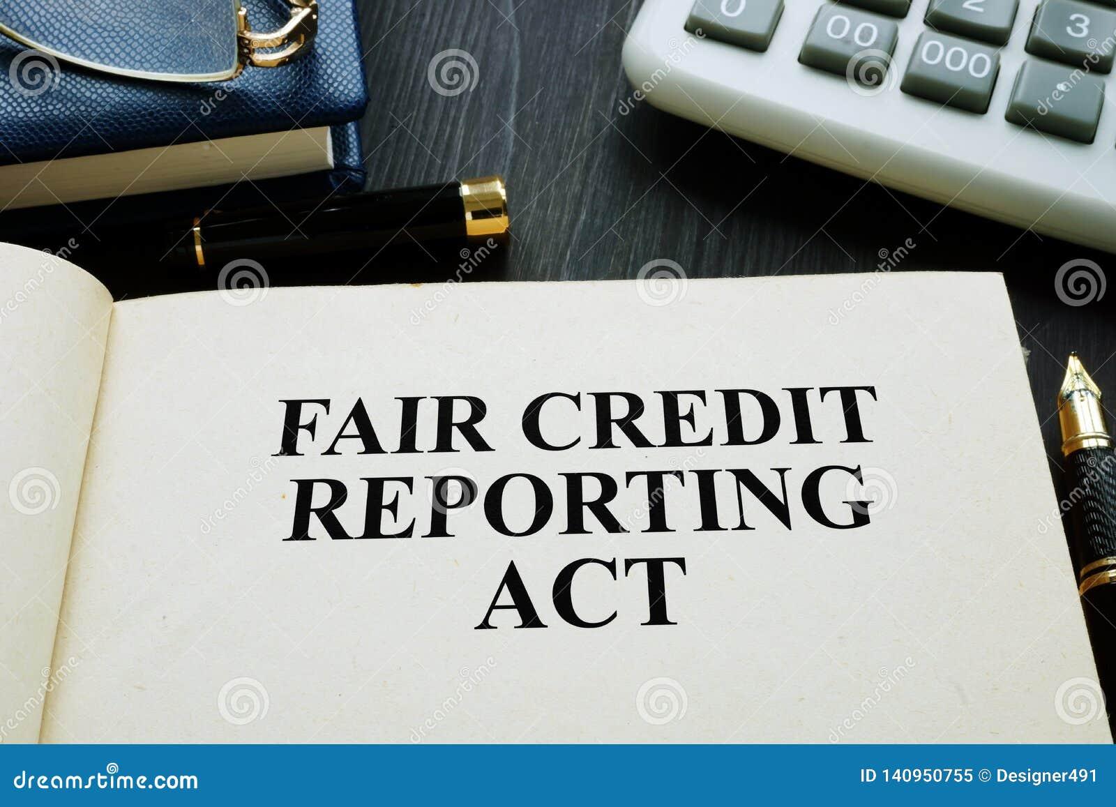 Eerlijk krediet die handeling FCRA melden over een bureau