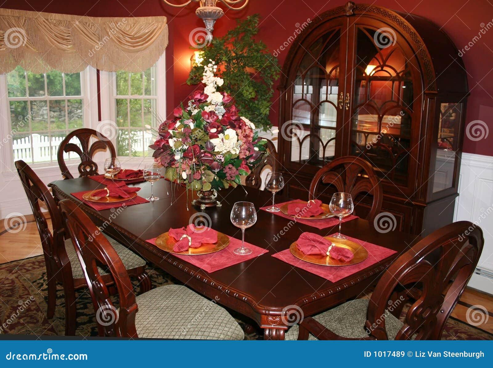 Eetkamer stock afbeelding afbeelding bestaande uit meubilair 1017489 - Formele meubilair ...