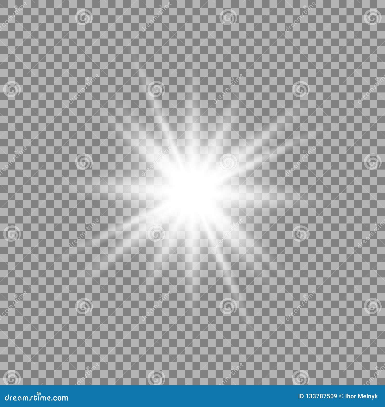 Efeito da luz do fulgor