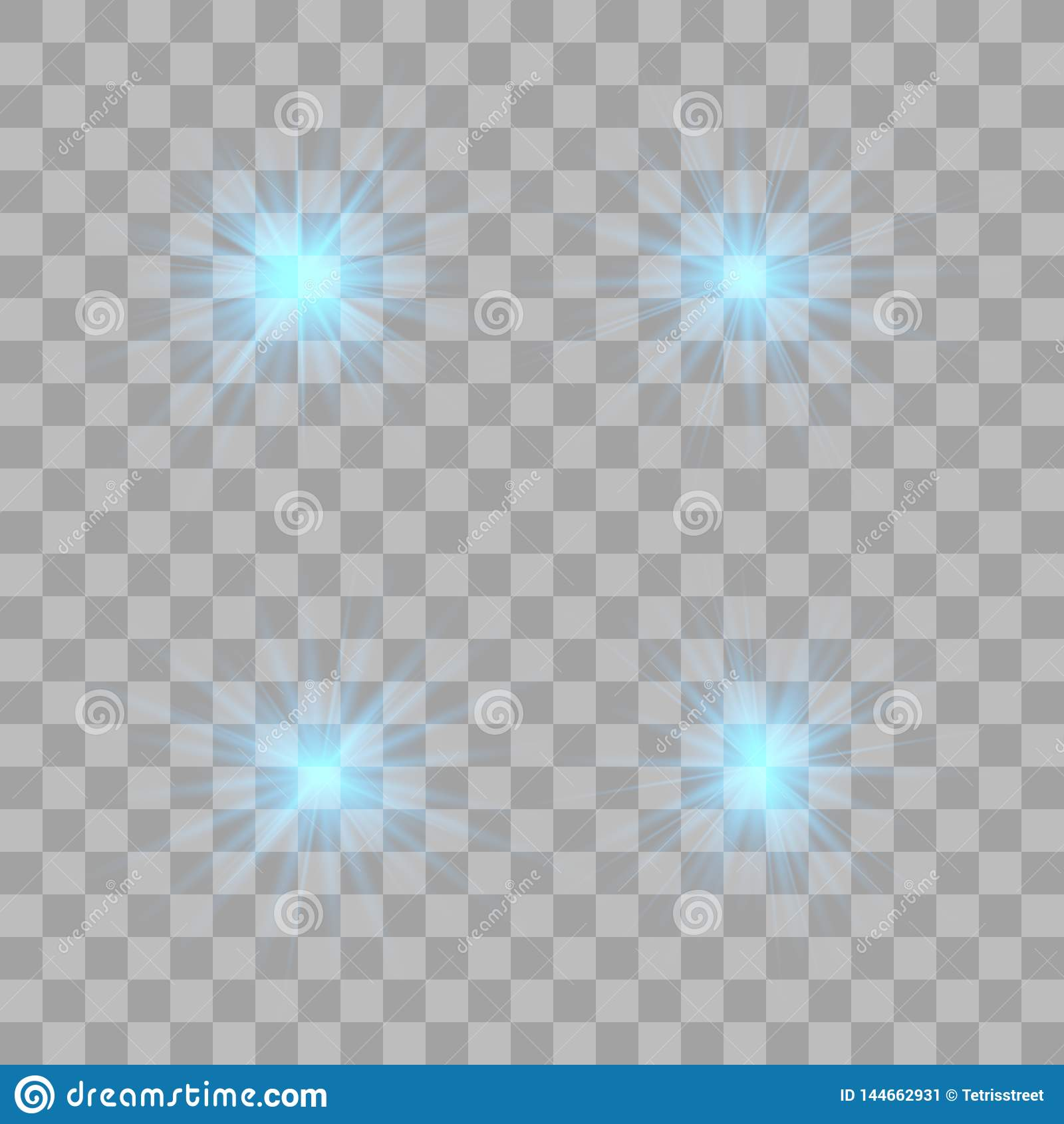 Efeito da luz do fulgor Flash do Natal