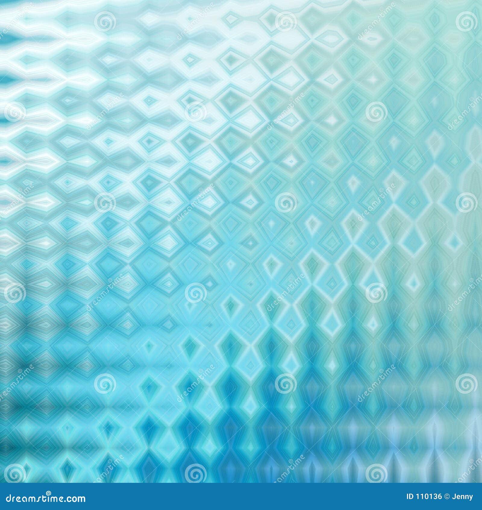 Efeito de vidro azul