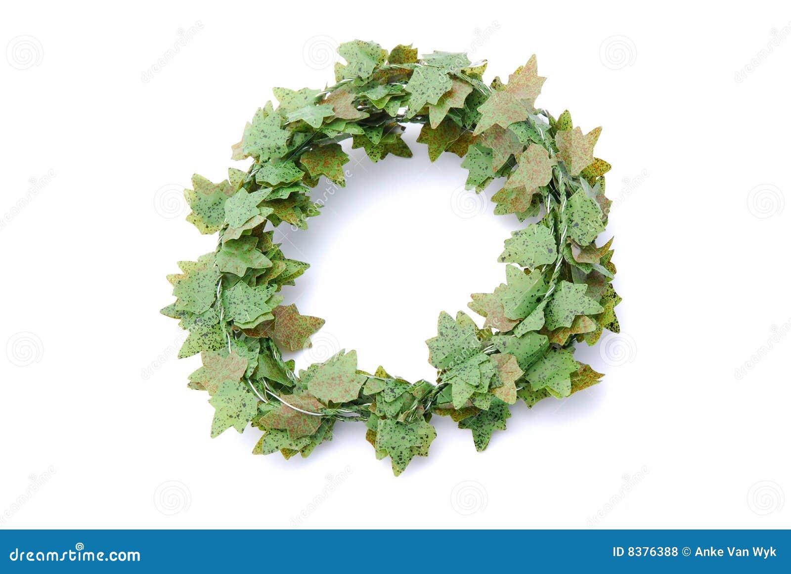 efeu wreath stockfoto. bild von noch, künstlich, englisch - 8376388