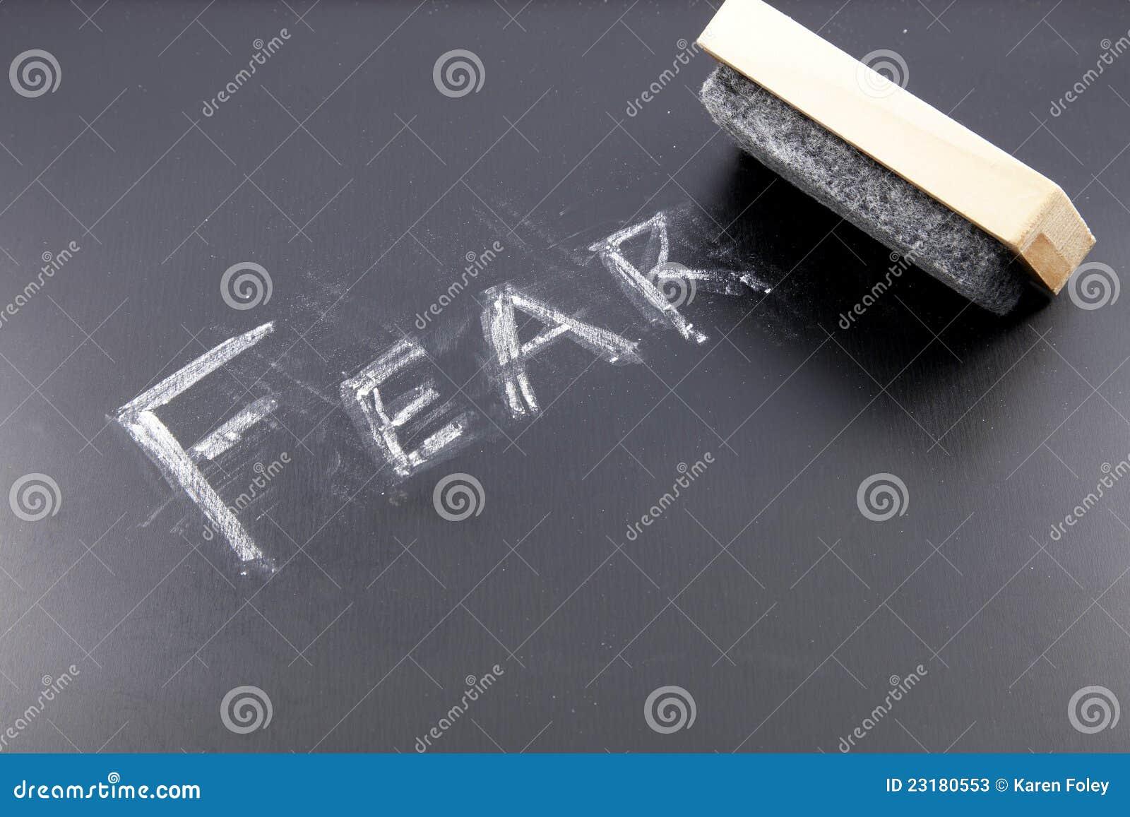 Effacement de la crainte