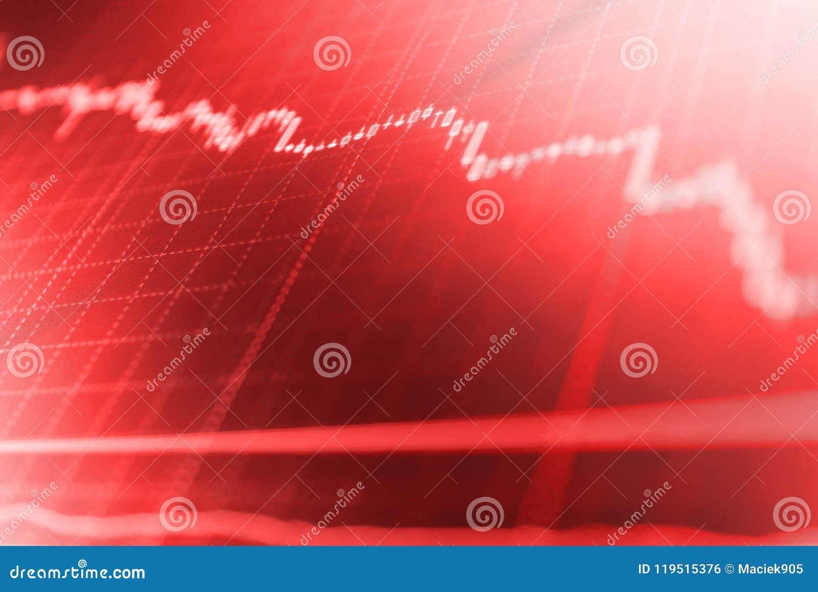 Effectenbeurscitaten op vertoning Het investeren en conceptenaanwinst en winsten met langzaam verdwenen kandelaargrafieken