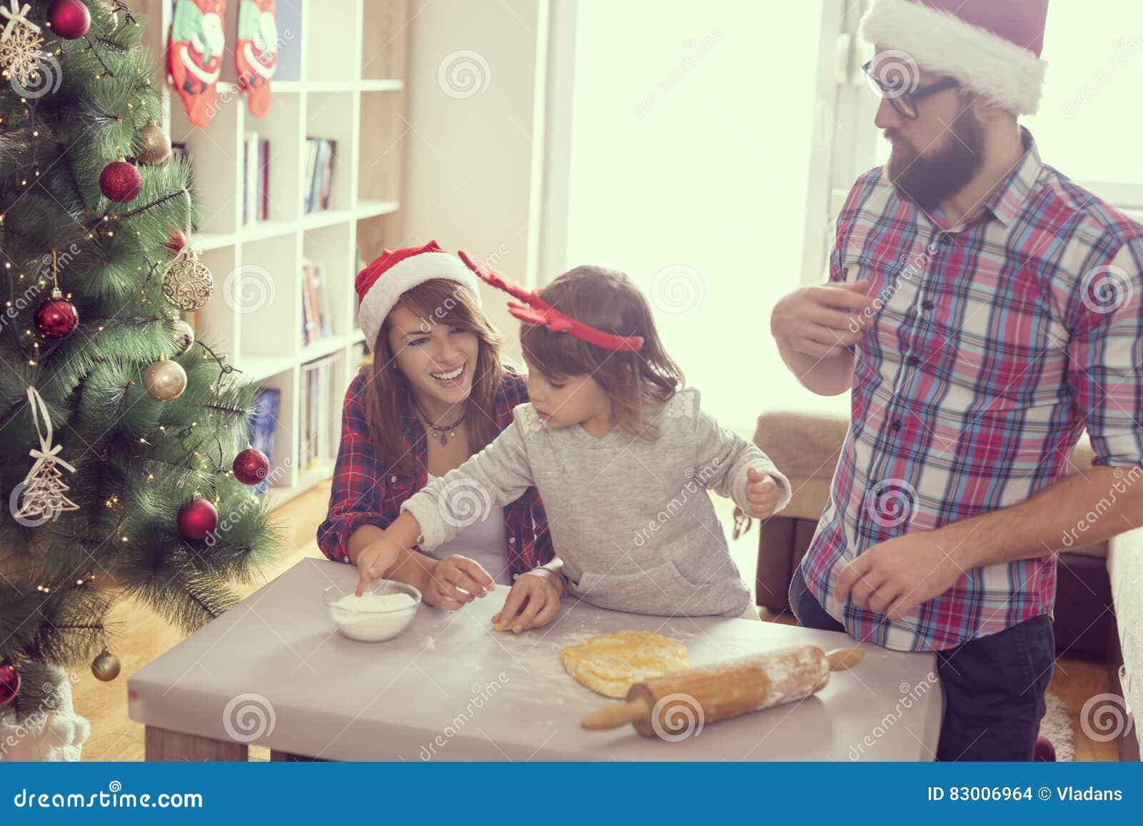 Effectuer des biscuits de Noël