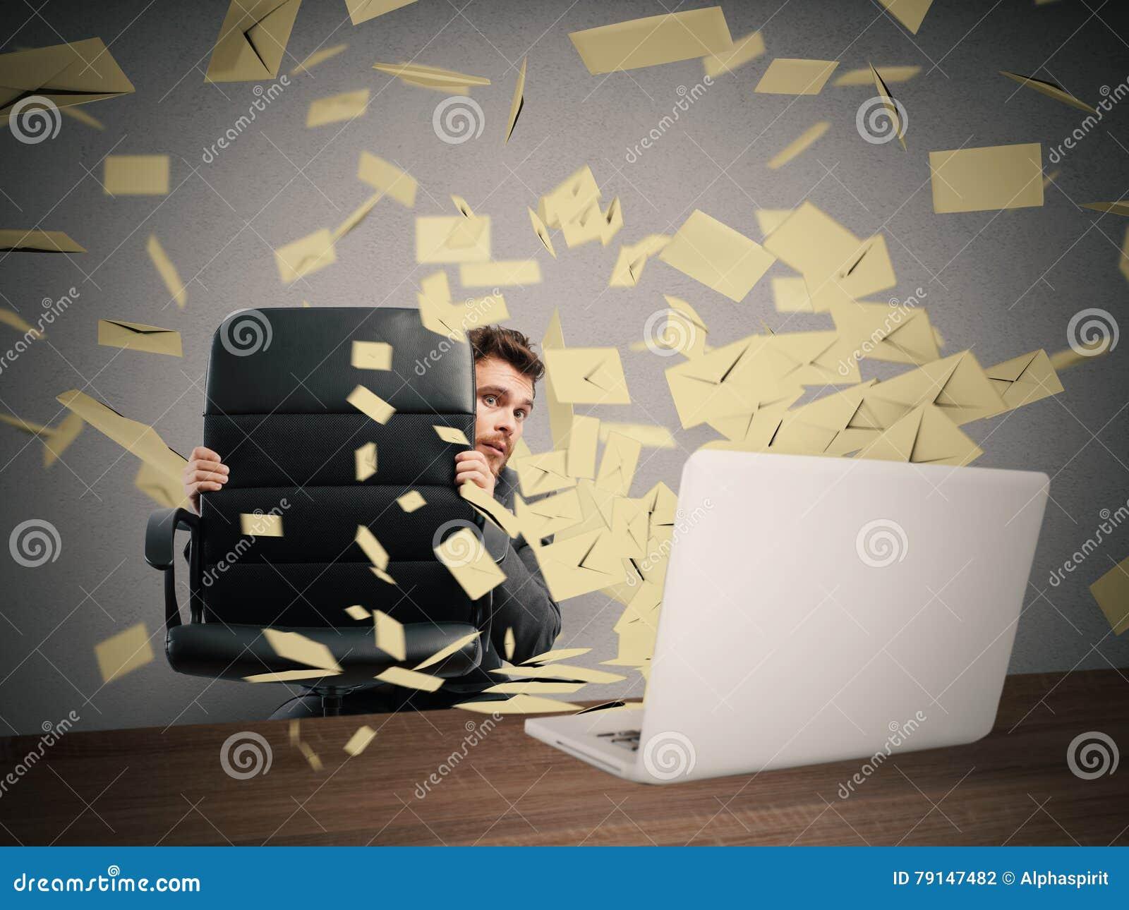 Effrayé par trop d email