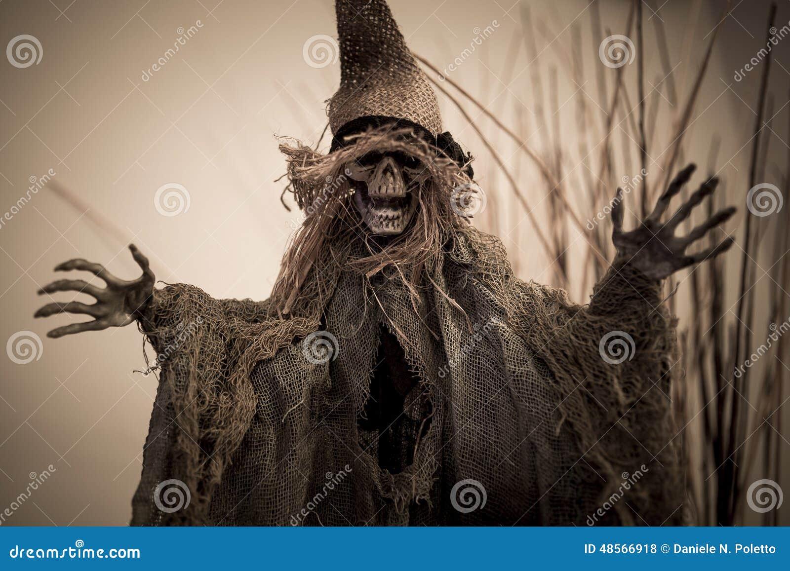 Effrayez le crâne pour Halloween