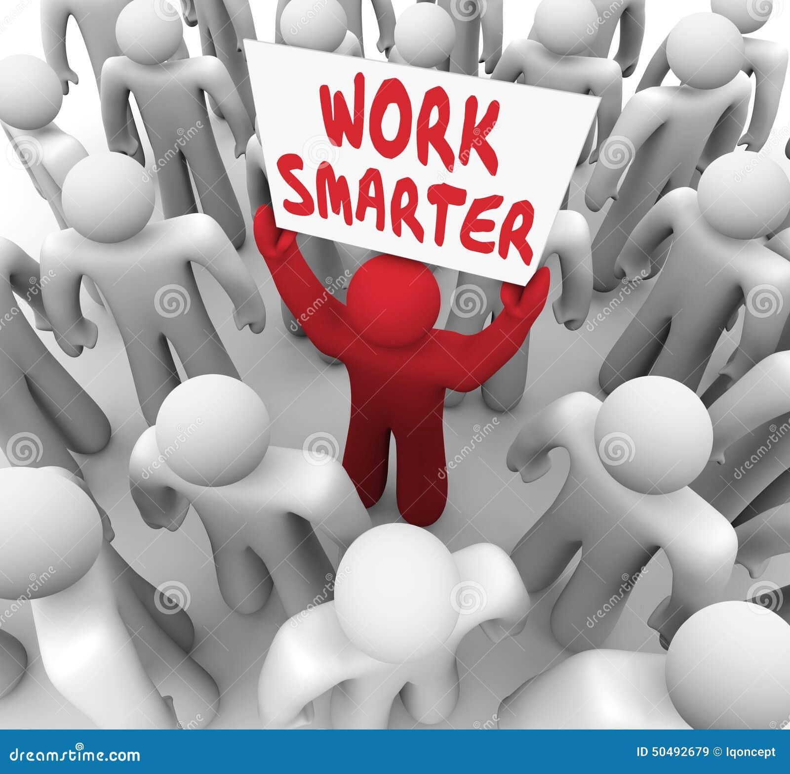 Eficacia de la productividad de una muestra más elegante de las palabras del trabajo una mejor