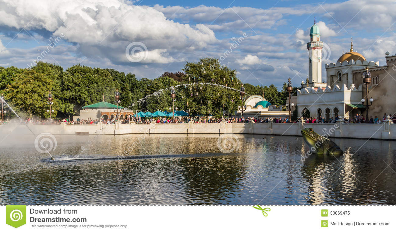 The Efteling - Aquanura Watershow Editorial Image - Image ...