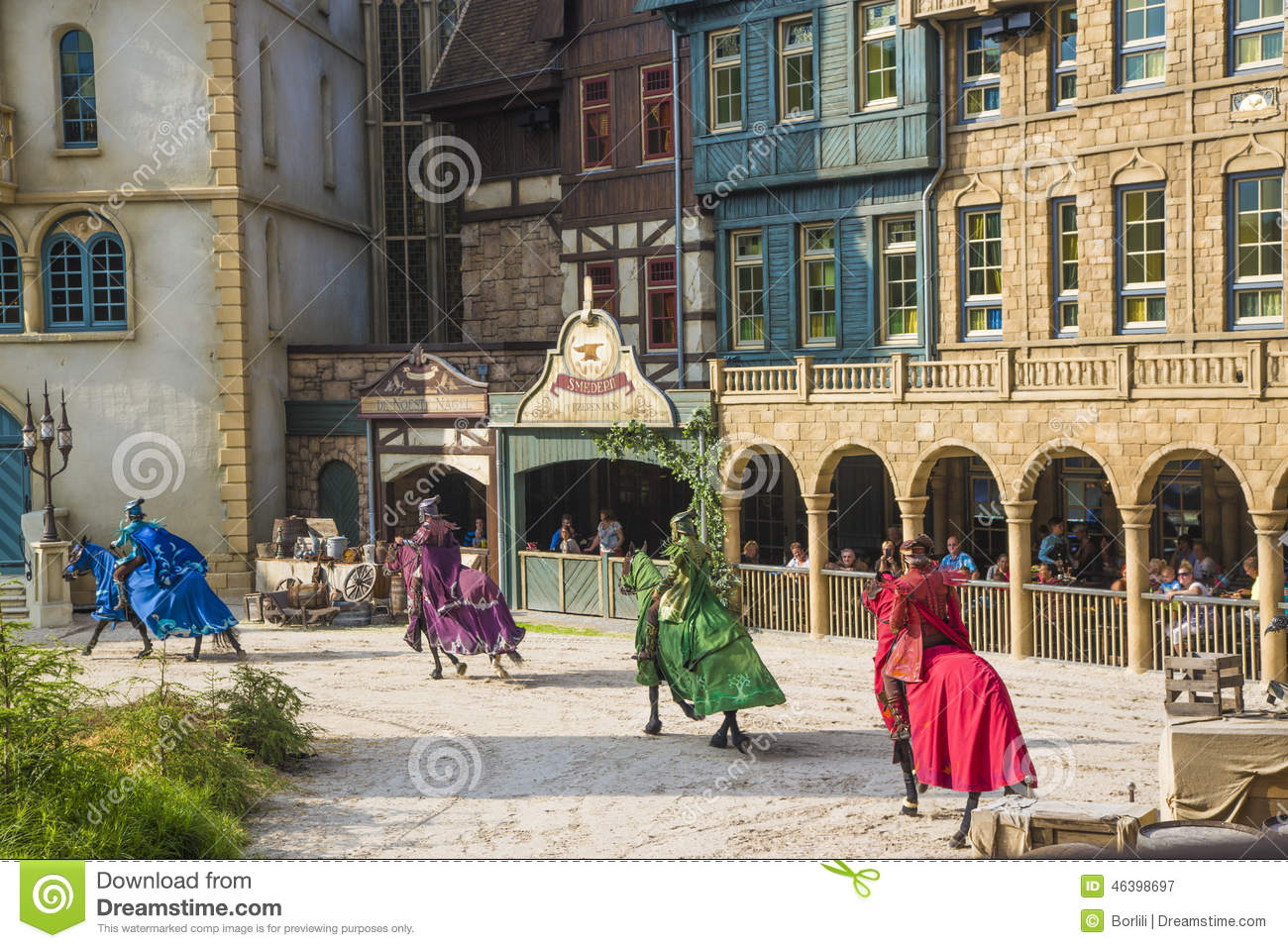 Efteling Show Theme Park In Holland Editorial Photography Image 46398697