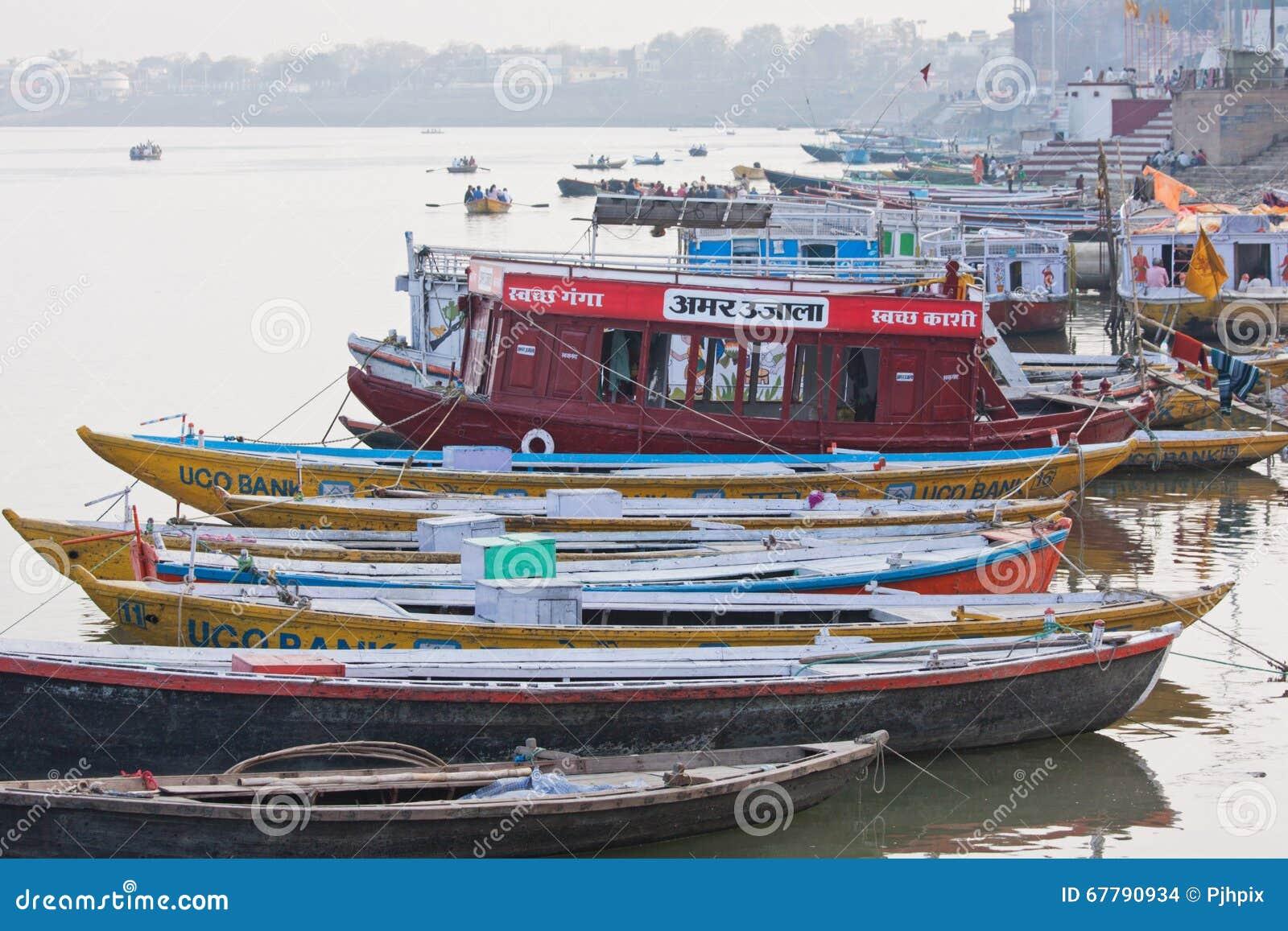 Eftermiddag på bankerna av Gangesen