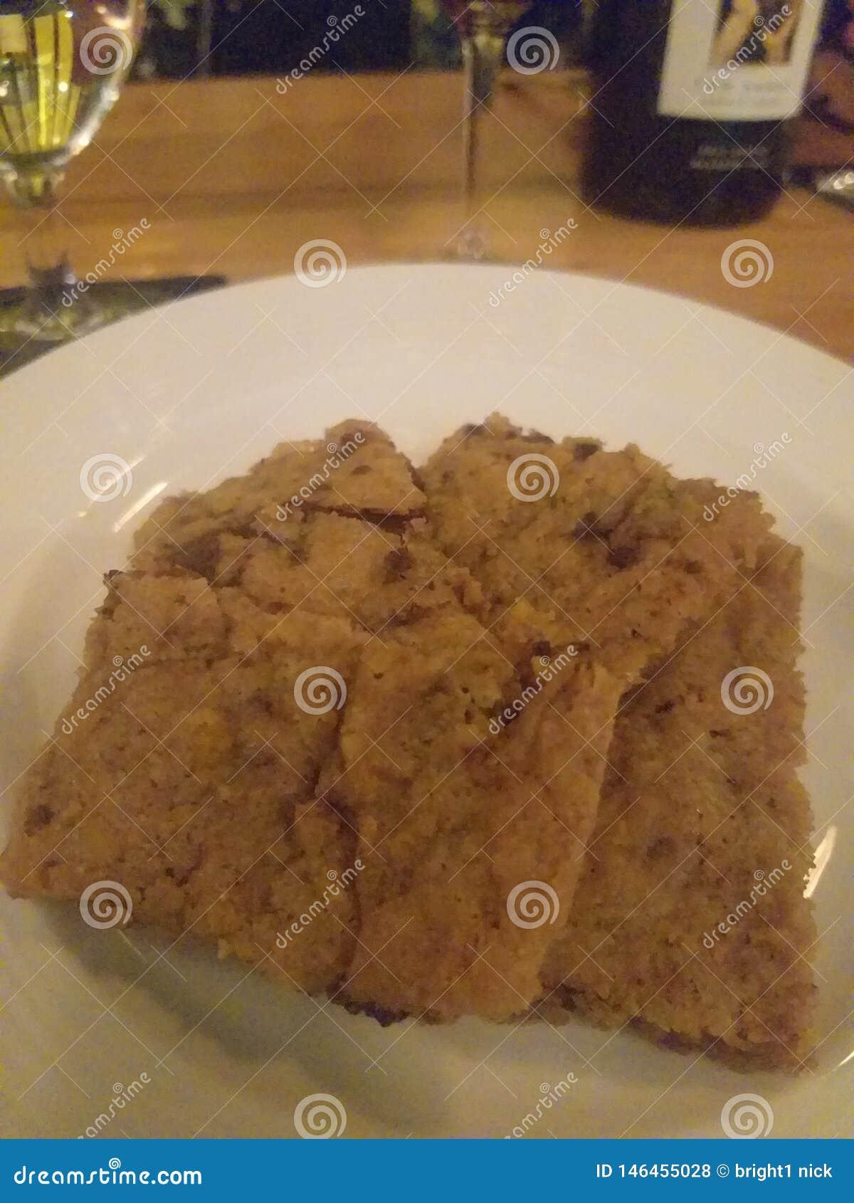 Efterrätt för nissen för kaka för chokladkakaokakor som dinning