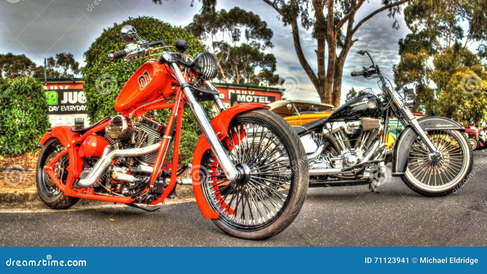 Egenn planlade den amerikanska motorcykeln