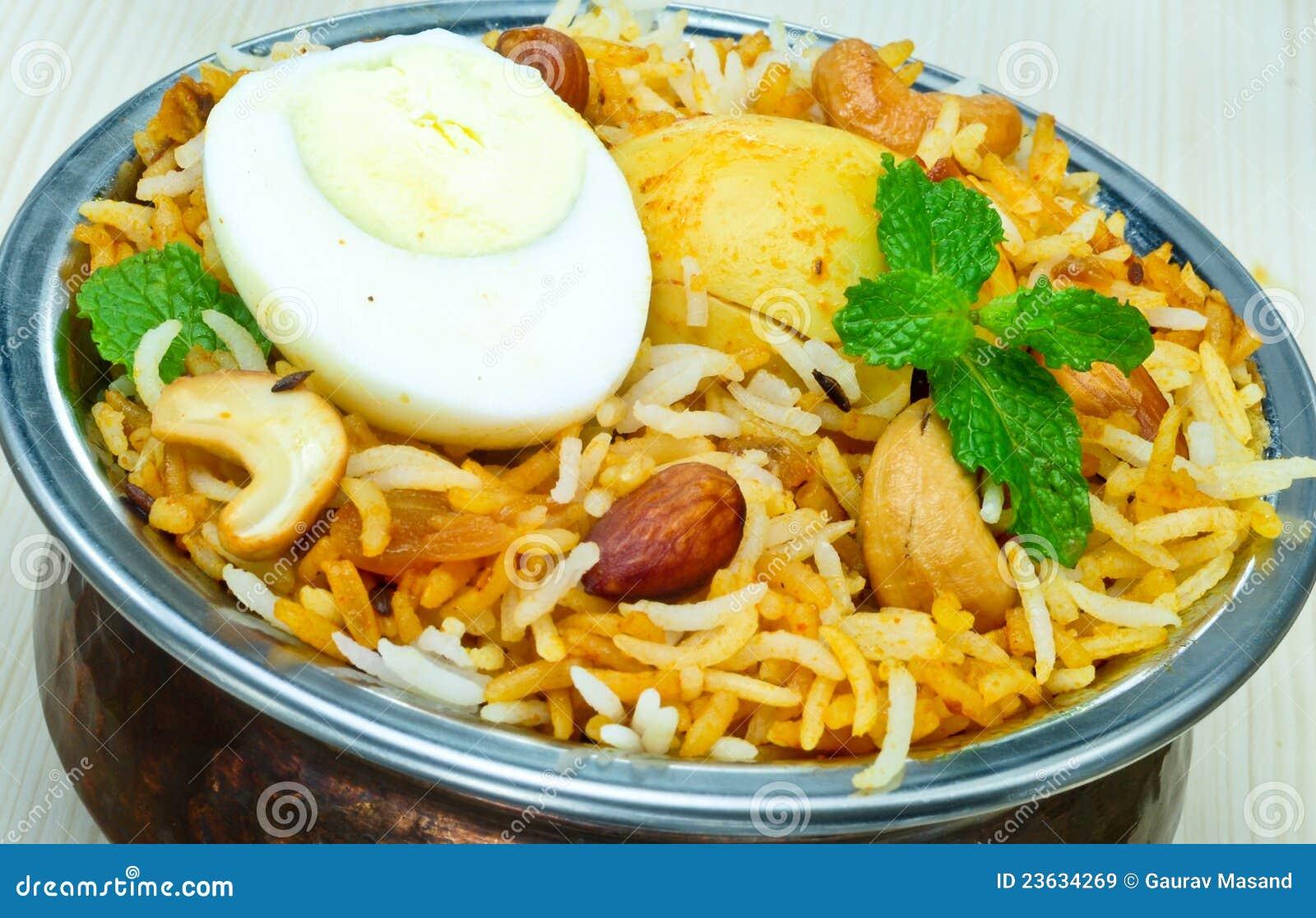 Chicken biryani stock photo. Image of food, dinning, chicken.