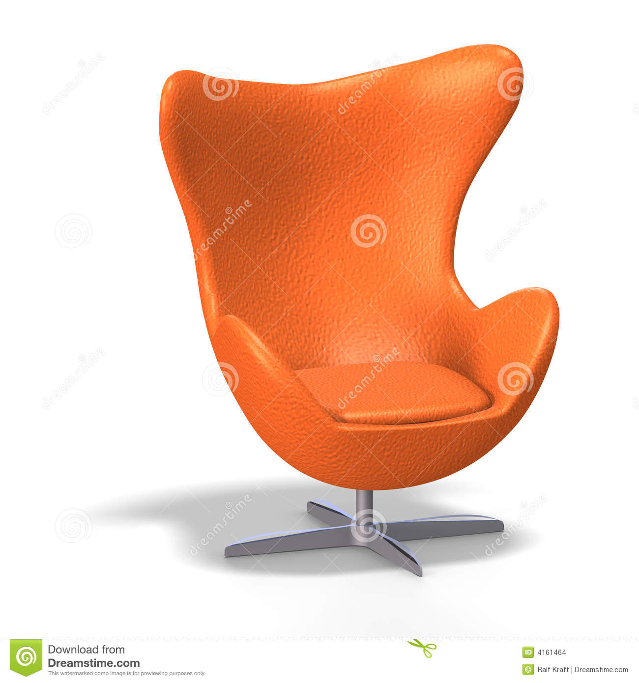 Egg chair stock images image 4161464 for 70s egg chair