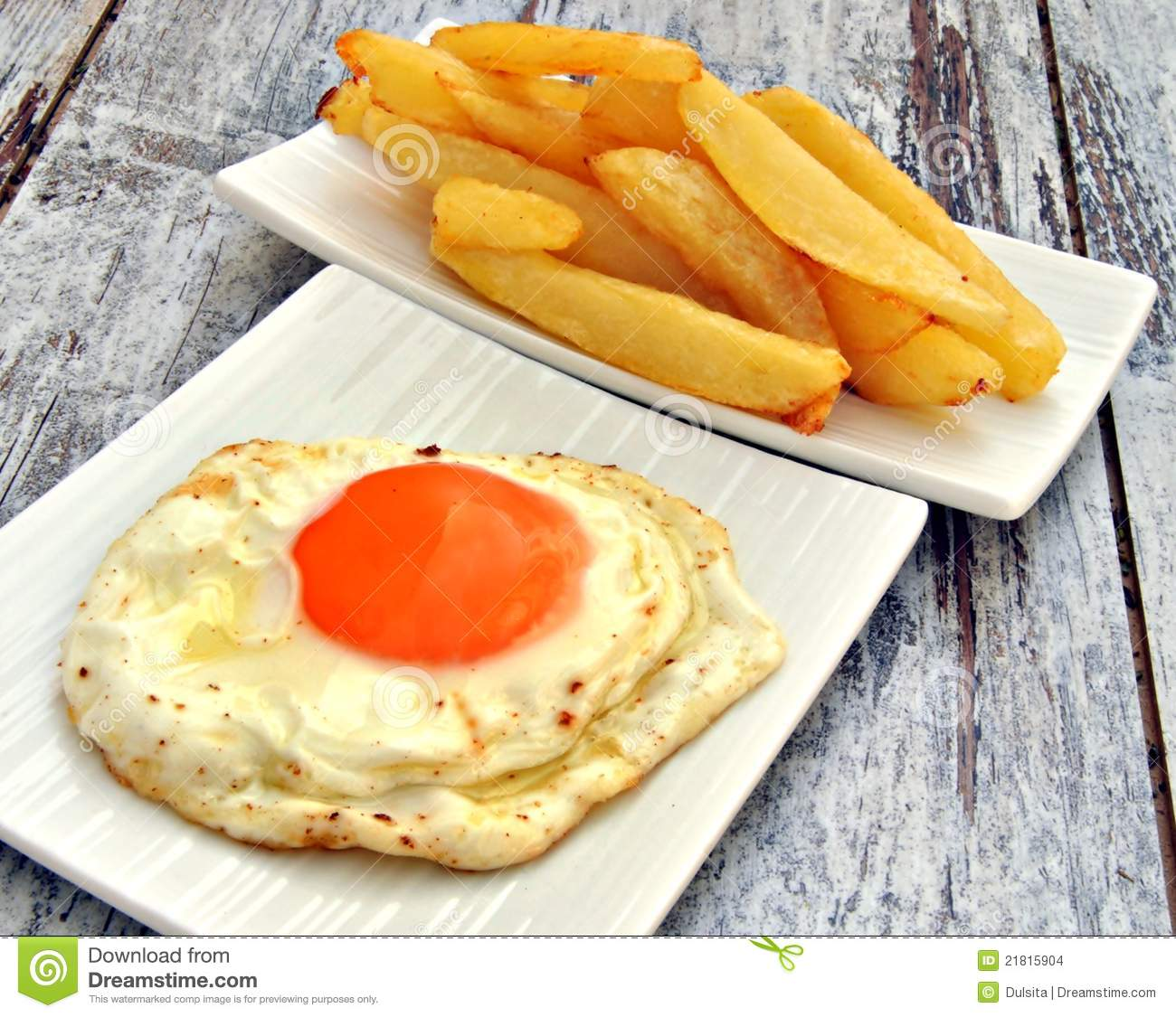 Egg And Chips Stock Photo Image Of Rustic Agriculture