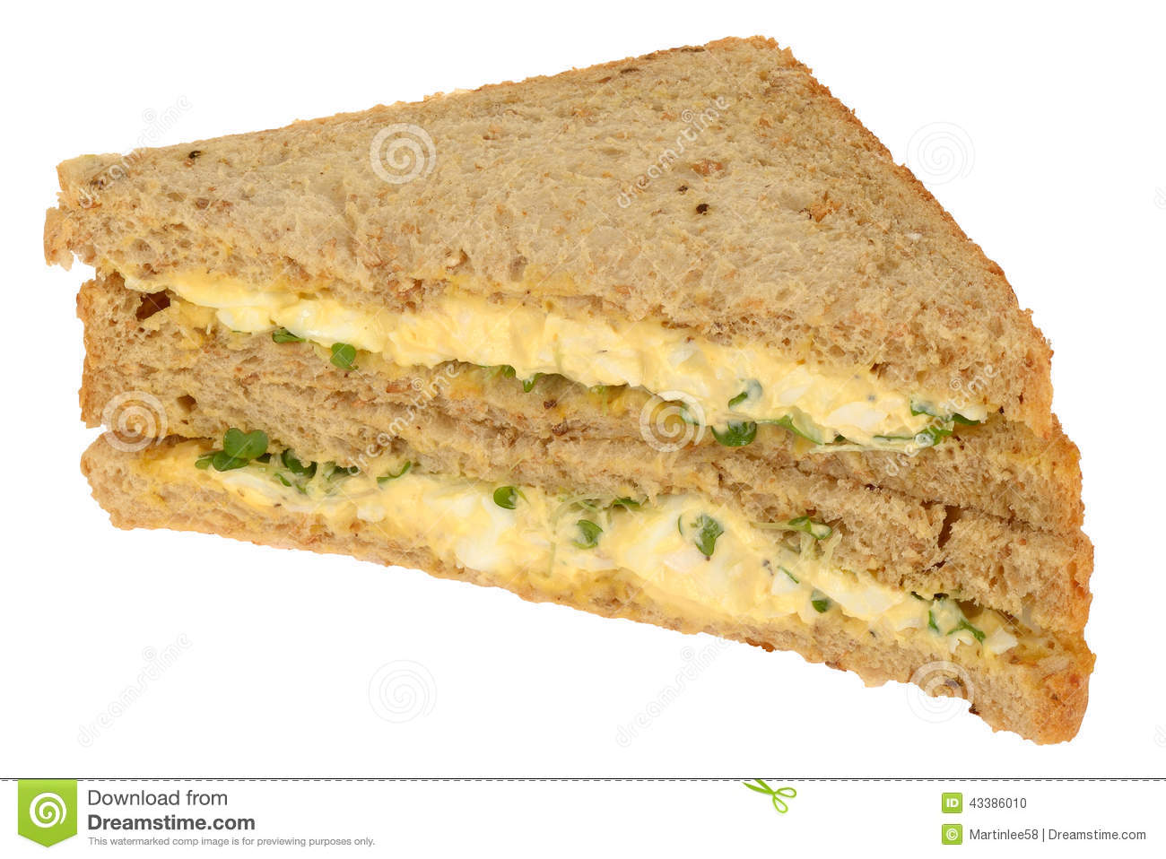 how to make bread sandwich with egg