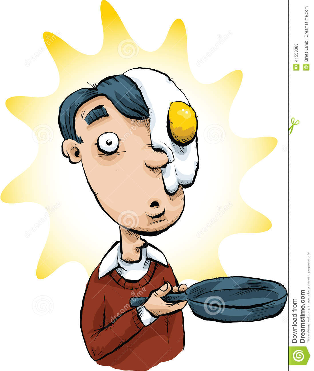 Image result for Cartoon egg on your face