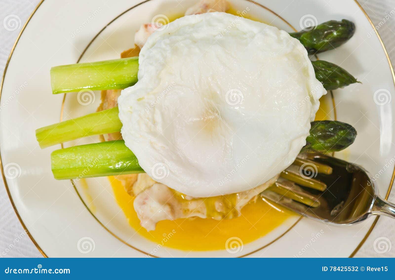 Egg Lobster Oscar With Taragon And ...