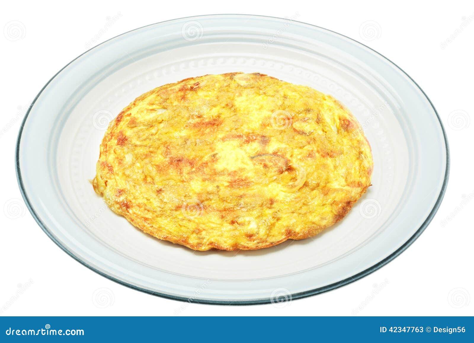 Egg Omelet Stock Photo Image 42347763
