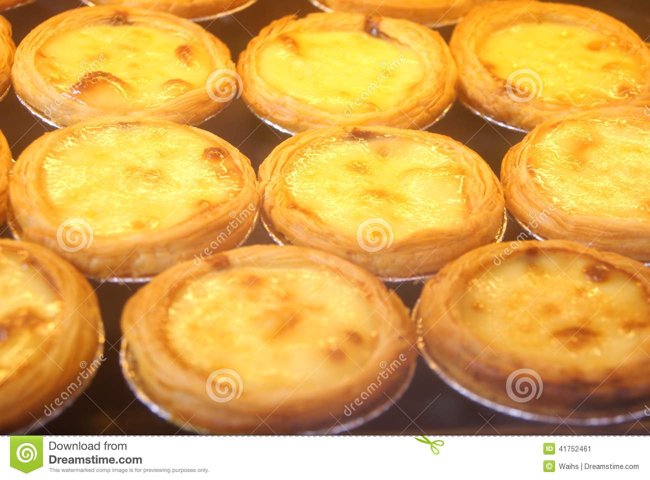 how to cook egg tart